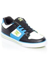DC Blue-Black-White Pure Elastic SE Kids Shoe
