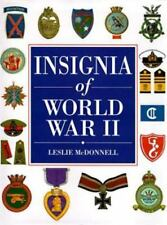 WW2 Insignia of World War II by Leslie McDonnell Reference Book