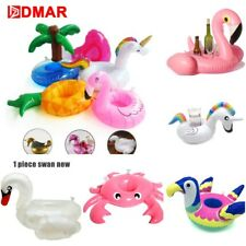 Drink Pool Floating Float Holder Inflatable Mini Raft Swimming Water Party New