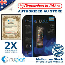 2X NUGLAS Tempered Glass Screen Protector for Apple iPhone SE iPhone 5S 5C