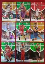 2005-06 Topps Finest Gold Green Red X-Fractor Refractor O'Neal Nash McGRADY