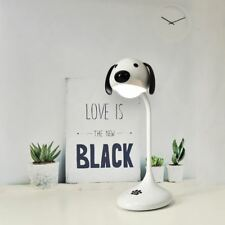 USB Rechargeable Desk Lamp LED Touch Control Desk light Dog Charging Book Lamps