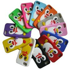 For Apple iPhone 5 5G 5S SE Penguin Cute Silicone Gel Rubber Skin Case Cover