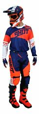 Shot Race Gear Pants Jersey Gloves combo Contact Infinite Adult MX Motocross