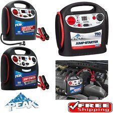 Peak Car Battery Jump Starter 600-900 AMP Air Compressor Power Charger Booster