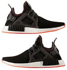 ADIDAS NMD RUNNER XR1 2017 CASUAL MEN's CORE BLACK - SOLAR RED AUTHENTIC NEW SZ