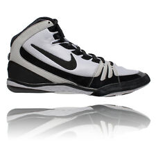 NIKE FREEK MENS WRESTLING SHOES WHITE / BLACK