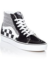 Vans Mix Checker Black-True White SK8-Hi Shoe
