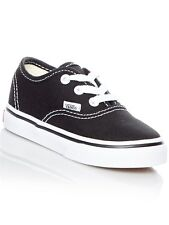 Vans Black-White Authentic Toddlers Shoe