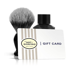 NEW THE ART OF SHAVING GIFT CARD