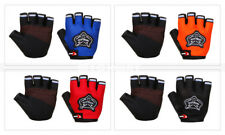 Outdoor Sports Cycling Bicycle Bike Half Finger Fingerless Mesh Gloves Kid/Adult