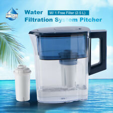 Water Filter Pitcher Household Office Used Pure Water Direct Drinking Jug 2.5L