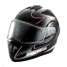 POLARIS FULL FACE MODULAR Snowmobile/Motorcycle HELMET-ANTIFOG SHIELD-Medium-NEW