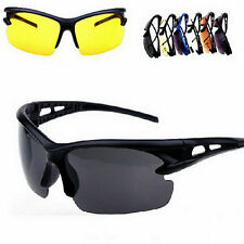 Security Explosion-proof UV 400 Sunglasses Sport Cycling Glasses Goggles BS