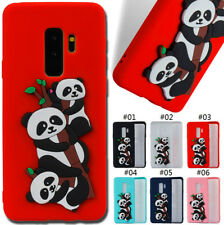For Samsung Galaxy Phone TPU Gel Soft Skin Panda Back Rubber Silicone Case Cover