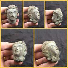 RARE ANCIENT INDUS VALLEY Bronze  BUST FROM THE HARAPPA CULTURE 1200 BC