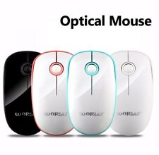 3 Buttons 1200dpi Optical Mouse Wireless USB Receiver Mice PC Laptop Computer