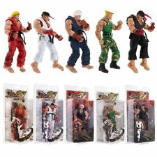 NECA Street Fighter IV Survival Mode RYU & GUILE Action Figure Toy - 7Inch /18CM