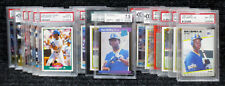 Ken Griffey Jr. / PSA Graded Cards / Hall of Famer / Seattle Mariners