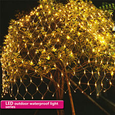 3 in1 2M LED Starry String Light Net Light Waterproof Xmas Wedding Outdoor Decor