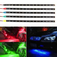 2 X 30cm/15LED SMD 3528 Waterproof Flexible Light Strip 12V DC for Car Vehicle