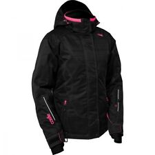 CASTLE WOMENS LADIES BLISS Black/Hot Pink Warm Winter JACKET COAT - Large or 1W