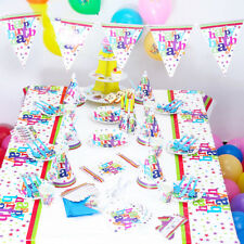 Carnival Theme Happy Birthday Party Supplies Baby Shower Kids Party Decor New