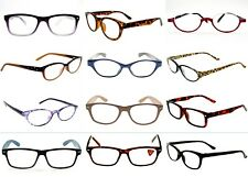 Readers Wholesale 12 Pair Men or Women Reading Glasses Assorted Styles NEW