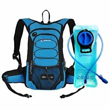 Hydration Backpack 2L Water Bladder Outdoor Gear Skiing Running Hiking Cycling