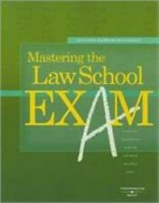 Career Guides: Mastering the Law School Exam by Suzanne Darrow-Kleinhaus...