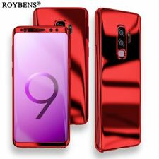 Luxury Ultra Thin Bling Mirror 360 Full Protection Cover For Galaxy S9 Plus