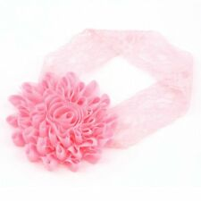 Girl Baby Toddler Lace Flower Headband Hair Band Accessories Headwear BU