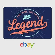 eBay Happy Father's Day Legend Digital Gift Card - $25 to $200 Email Delivery
