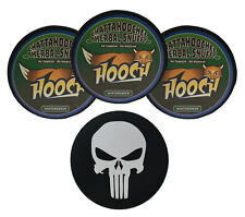 Hooch Wintergreen Rough Cut Herbal Chew - 3 Cans - Includes DC Skin Can Cover