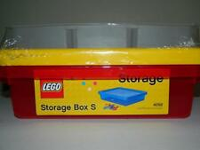Lego Storage Box and Sorting Tray Red Tote Bin 4092S Holder Keeper Container New