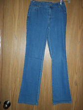 Faded Glory Jeans Girls Denim Pants Size 14 Adjustable Waist