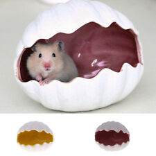 Small Pet House Hamster Bed Shape Plush Lovely Small Animal Indoor Bed