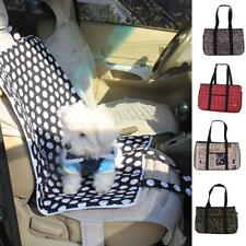 Pet Carrier Soft Sided Cat / Dog Comfort Travel Tote Bag Car Seat Mat Picnic Rug