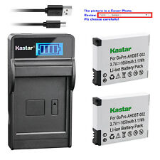 Kastar Battery LCD Charger for AHDBT-001 AHDBT-002 & Gopro HD HERO2 Surf Edition