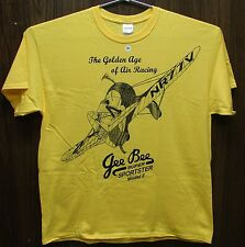 Gee Bee Model Z Airplane T-shirt with Golden Age of Racing design ADULT & YOUTH
