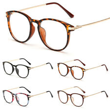 Unisex Clear Lens Glasses Retro Fashion Nerd Geek Eyewear Eyeglasses Womens Mens