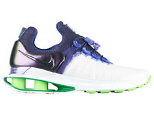 NEW WOMENS NIKE SHOX GRAVITY RUNNING SHOES TRAINERS WHITE / FUSION VIOLET / WHIT