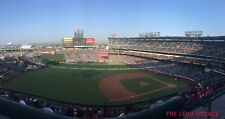 2 CHI White Sox vs Los Angeles Angels 7/23 Tickets FRONT ROW Aisle Angel Stadium