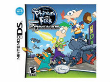 Phineas and Ferb: Across the 2nd Dimension - Nintendo DS Disney Video Game