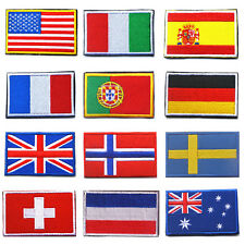 Tactical Patch Army Badge Combat Armband World Embroidered Country Flag Patches