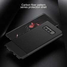 For Samsung Galaxy Note 8 Slim Carbon Fiber Shockproof Soft TPU Case Cover DU
