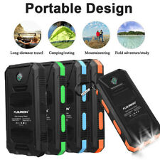 Solar Power Bank External Battery Pack Dual USB Solar Panel Charger 10000mAh US