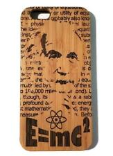 Albert Einstein bamboo wood case for iPhone 6, iPhone 6s, iPhone 6 plus, iPhone