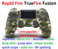 Modded RAPID FIRE PS4 controller with remappable reflex scuf like buttons