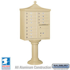 12 Door Salsbury Regency Decorative Cluster Box Unit - USPS Approved - 5 Colors
